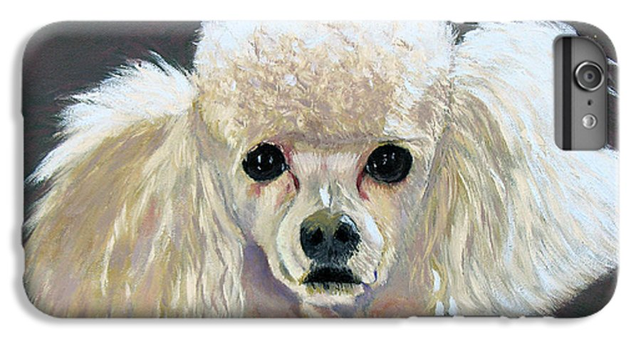 Dog IPhone 6 Plus Case featuring the painting Pebbles by Stan Hamilton