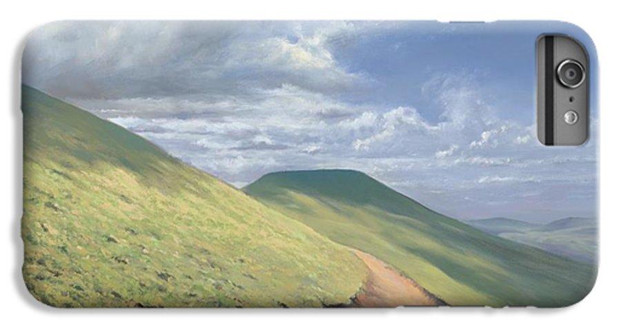 Pen Y Fan IPhone 6 Plus Case featuring the painting Pen Y Fan by Richard Picton