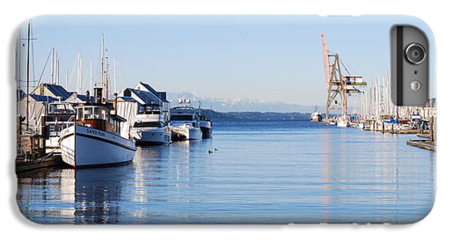 Olympia IPhone 6 Plus Case featuring the photograph Percival Landing by Larry Keahey