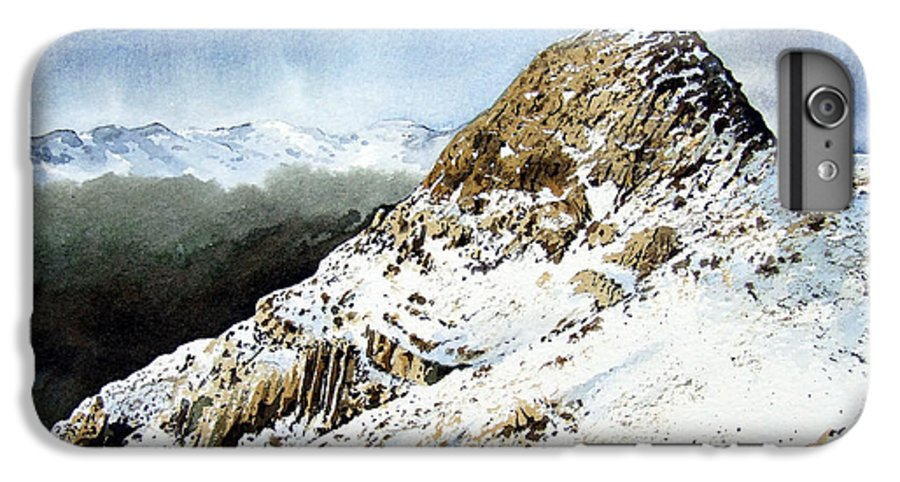 Pike O' Stickle IPhone 6 Plus Case featuring the painting Pike O' Stickle by Paul Dene Marlor