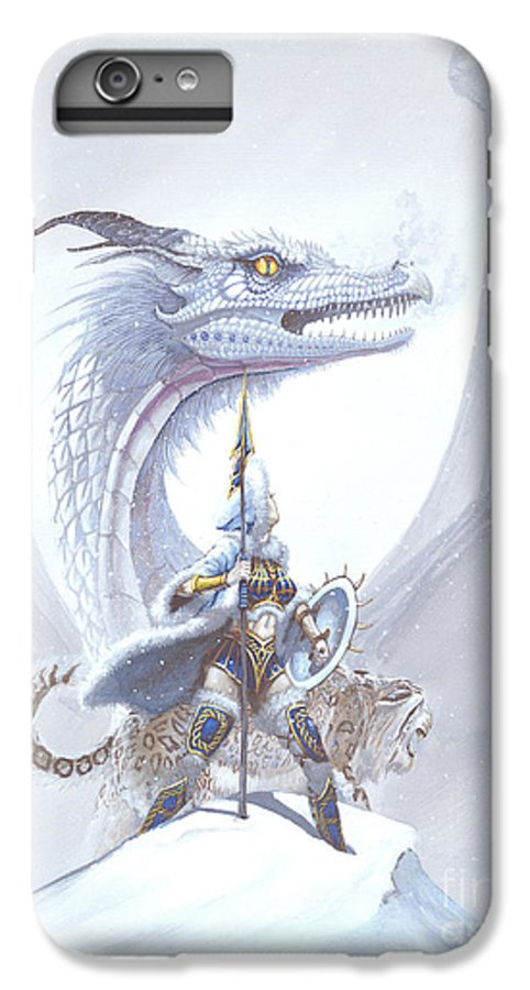 Dragon IPhone 6 Plus Case featuring the painting Polar Princess by Stanley Morrison