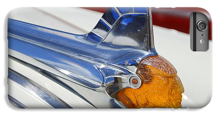 Pontiac IPhone 6 Plus Case featuring the photograph Pontiac Hood Ornament by Larry Keahey