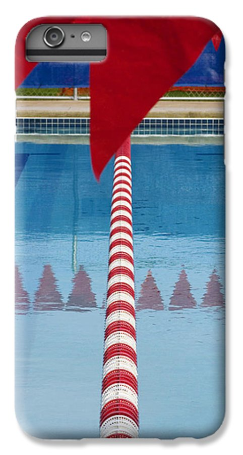 Flag IPhone 6 Plus Case featuring the photograph Pool by Skip Hunt