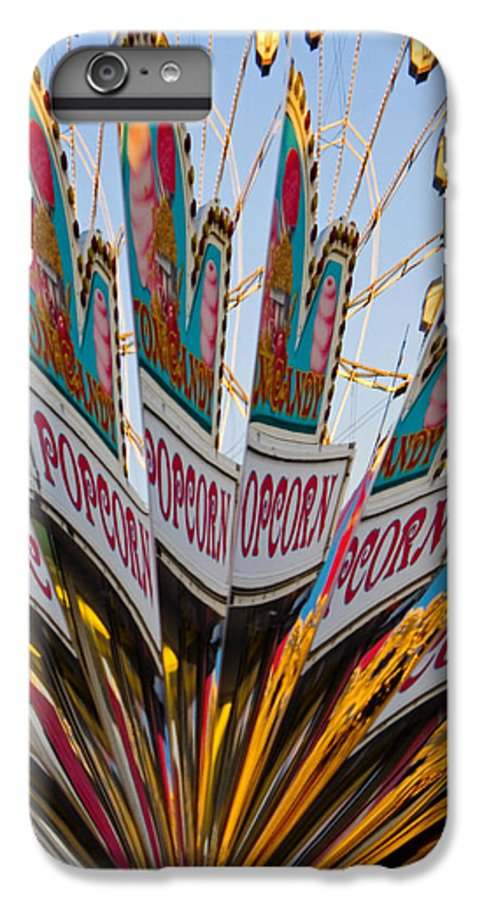 Concession Stand IPhone 6 Plus Case featuring the photograph Popcorn by Skip Hunt