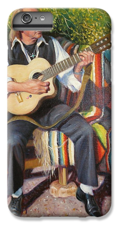 Realism IPhone 6 Plus Case featuring the painting Por Tu Amor by Donelli DiMaria