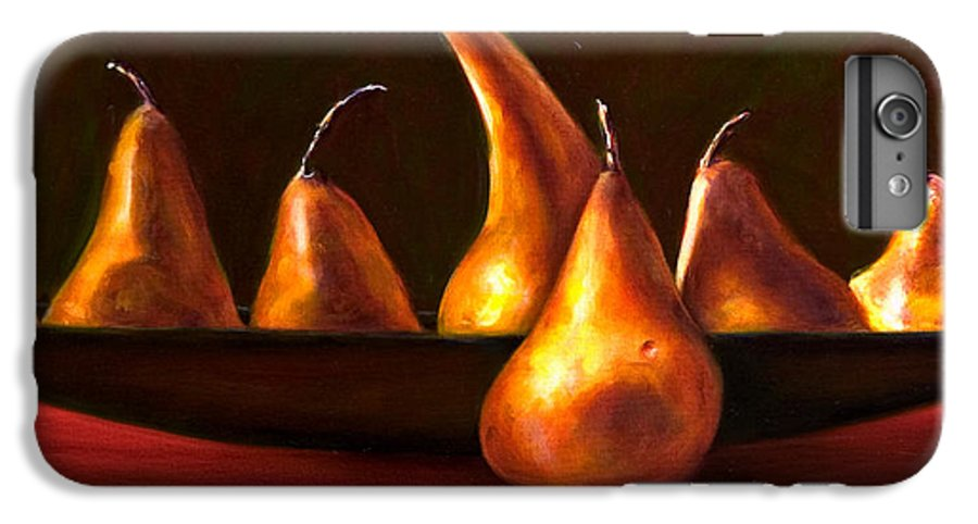 Still Life IPhone 6 Plus Case featuring the painting Port Au Pear by Shannon Grissom