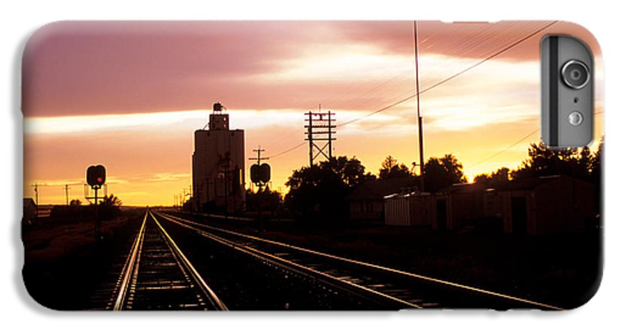 Potter IPhone 6 Plus Case featuring the photograph Potter Tracks by Jerry McElroy