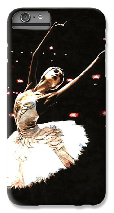 Prima Ballerina IPhone 6 Plus Case featuring the painting Prima Ballerina by Richard Young