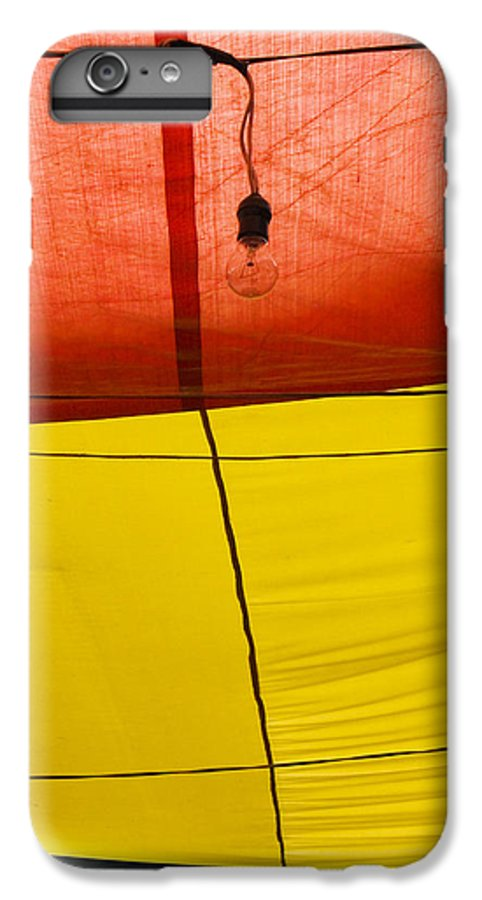 Bulb IPhone 6 Plus Case featuring the photograph Primary Light by Skip Hunt