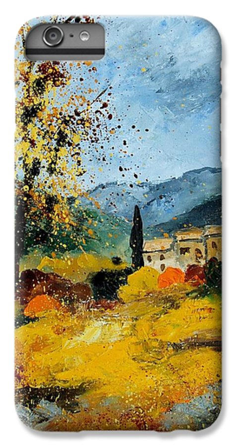 Provence IPhone 6 Plus Case featuring the painting Provence 45 by Pol Ledent