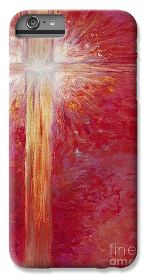 Light IPhone 6 Plus Case featuring the painting Pure Light by Nadine Rippelmeyer