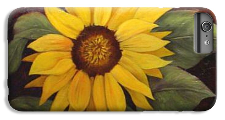 Still Life IPhone 6 Plus Case featuring the painting Pure Sunshine Sold by Susan Dehlinger