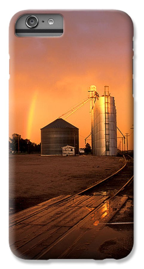 Potter IPhone 6 Plus Case featuring the photograph Rainbow In Potter by Jerry McElroy