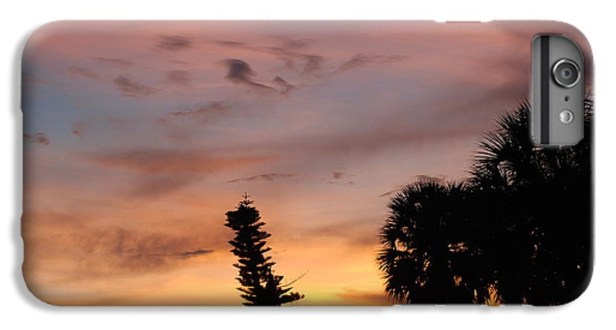 Sunset IPhone 6 Plus Case featuring the photograph Rainbow Sunset by Rob Hans