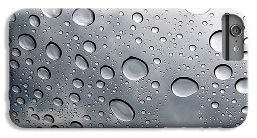Rain IPhone 6 Plus Case featuring the photograph Raindrops by Kenna Westerman