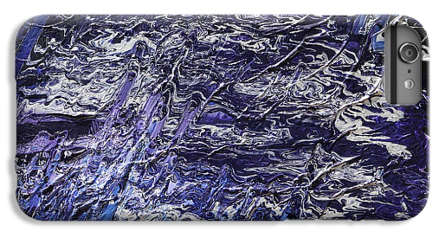 Fusionart IPhone 6 Plus Case featuring the painting Rapid by Ralph White