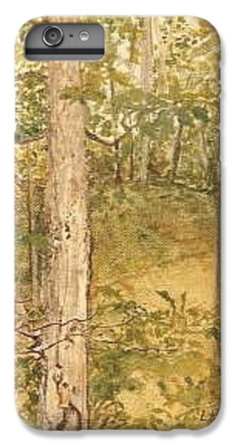 Trees IPhone 6 Plus Case featuring the painting Raystown Lake by Leah Tomaino