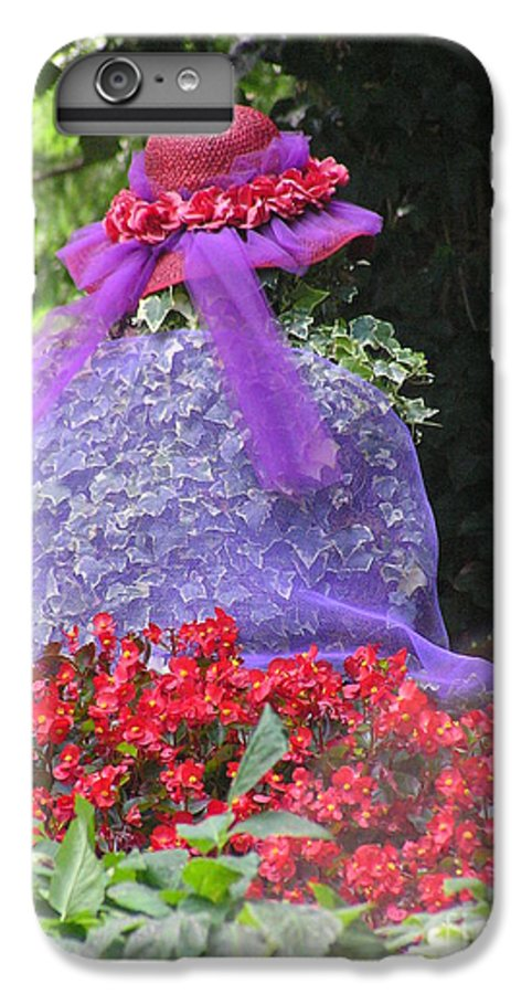 Red Hat IPhone 6 Plus Case featuring the photograph Red Hat Veil by Louise Magno