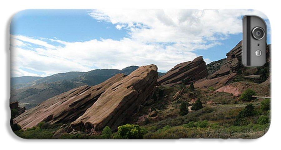 Red Rocks IPhone 6 Plus Case featuring the photograph Red Rocks Denver by Margaret Fortunato
