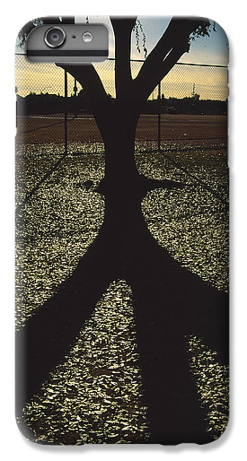 Tree IPhone 6 Plus Case featuring the photograph Reflections In A Park by Randy Oberg