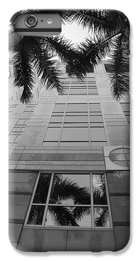 Architecture IPhone 6 Plus Case featuring the photograph Reflections On The Building by Rob Hans