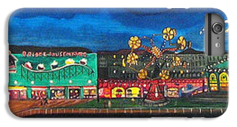 Asbury Art IPhone 6 Plus Case featuring the painting Remember When by Patricia Arroyo