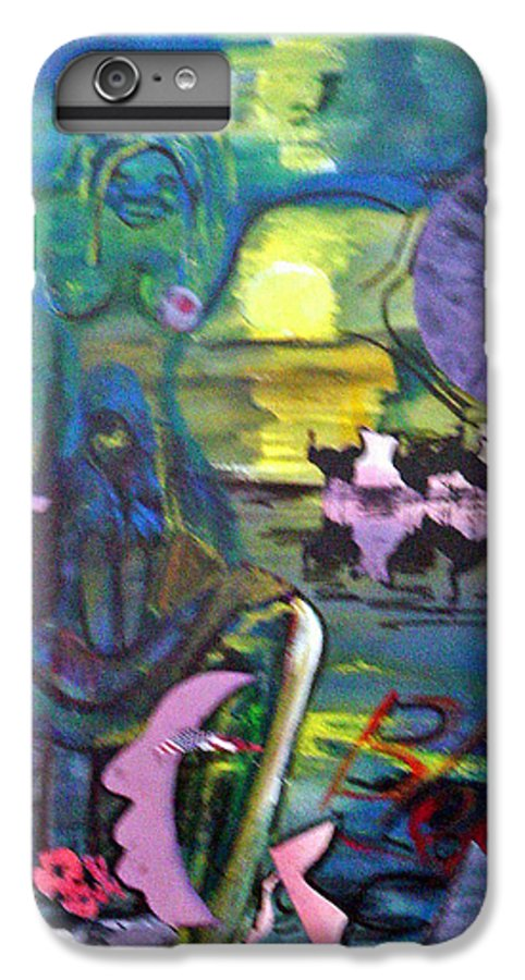 Water IPhone 6 Plus Case featuring the painting Remembering 9-11 by Peggy Blood