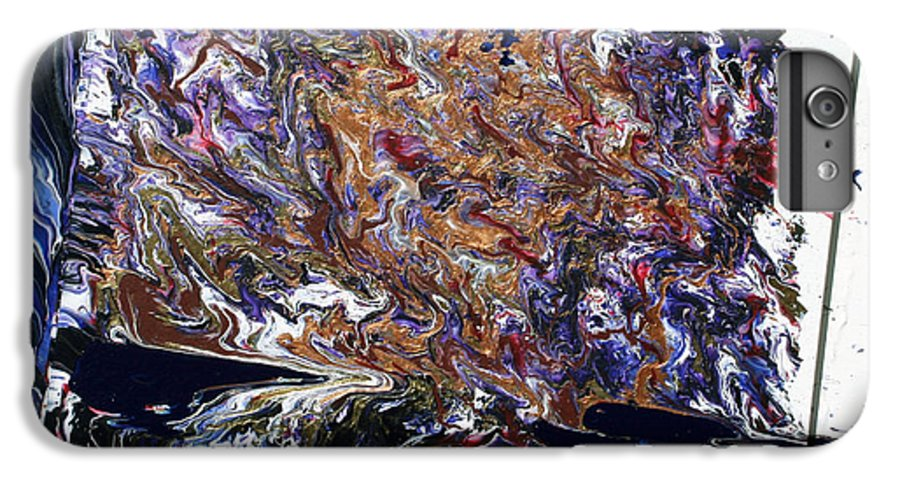 Fusionart IPhone 6 Plus Case featuring the painting Revolution by Ralph White
