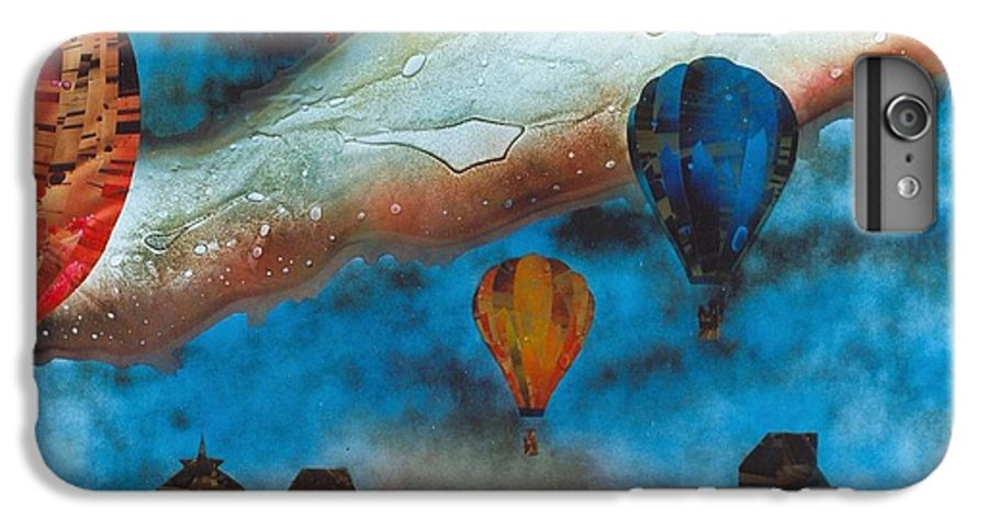 Landscape IPhone 6 Plus Case featuring the painting Riding The Chinook by Rick Silas