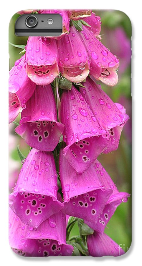 Fox Glove IPhone 6 Plus Case featuring the photograph Ringing Bells by Louise Magno