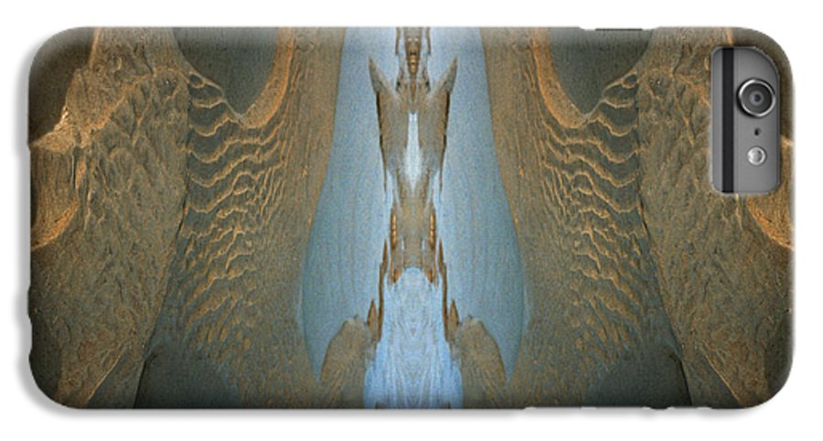 Rocks IPhone 6 Plus Case featuring the photograph Rock Gods Seabird Of Old Orchard by Nancy Griswold