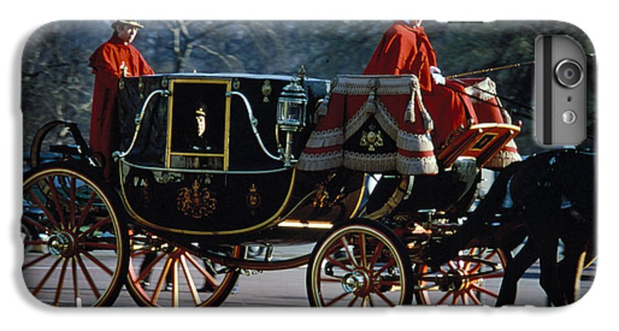 Coach IPhone 6 Plus Case featuring the photograph Royal Carriage In London by Carl Purcell