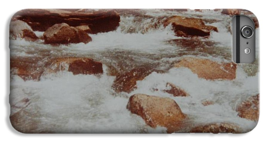 Water IPhone 6 Plus Case featuring the photograph Rushing Water by Rob Hans