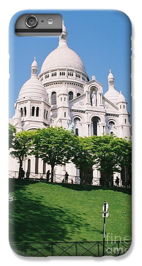 Church IPhone 6 Plus Case featuring the photograph Sacre Coeur by Nadine Rippelmeyer