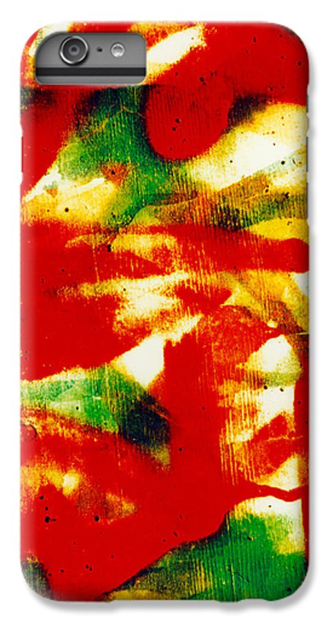 Abstract IPhone 6 Plus Case featuring the photograph Salsa by David Rivas