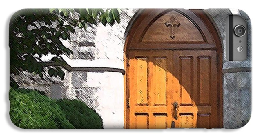 Church IPhone 6 Plus Case featuring the photograph Sanctuary by Debbi Granruth