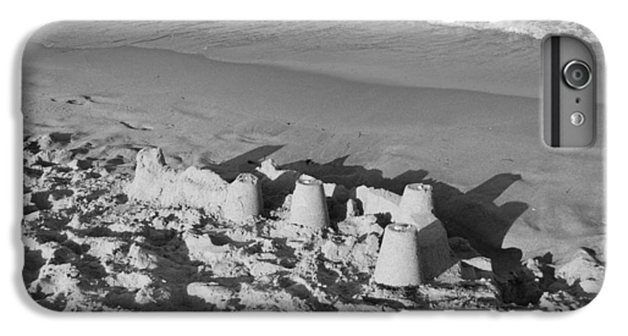 Sea Scape IPhone 6 Plus Case featuring the photograph Sand Castles By The Shore by Rob Hans