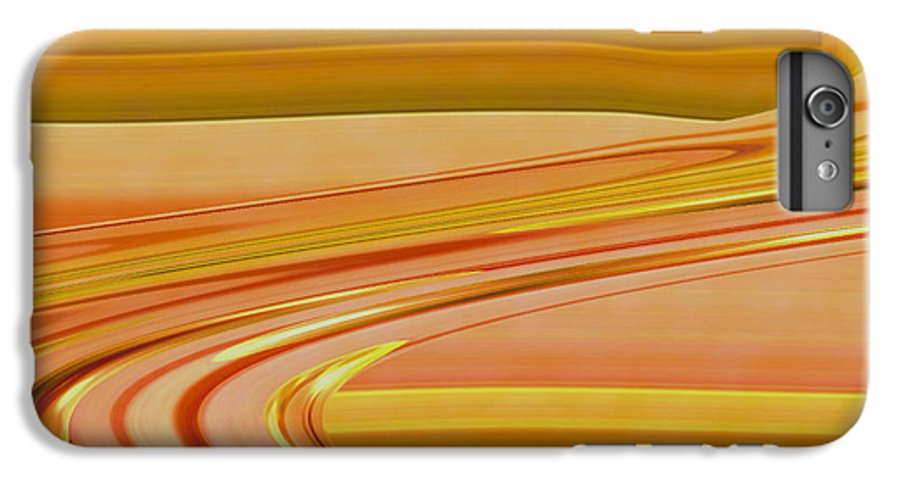 Sunset Art IPhone 6 Plus Case featuring the digital art Sands Of Time by Linda Sannuti