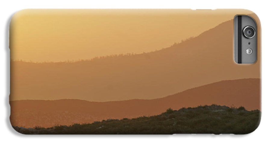 Sandstorm IPhone 6 Plus Case featuring the photograph Sandstorm During Sunset On Old Highway Route 80 by Christine Till