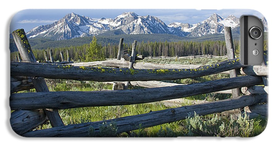 Sawtooth IPhone 6 Plus Case featuring the photograph Sawtooth Range by Idaho Scenic Images Linda Lantzy