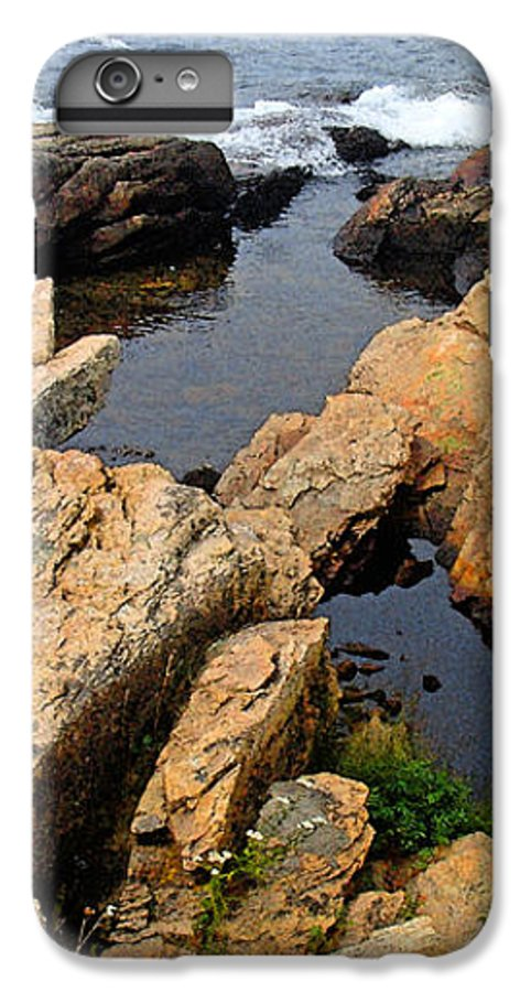 Landscape IPhone 6 Plus Case featuring the photograph Scoodic Tidepool by Peter Muzyka