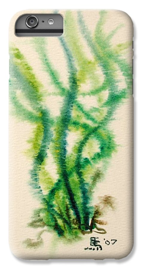 Sea IPhone 6 Plus Case featuring the painting Sea Bed One by Dave Martsolf