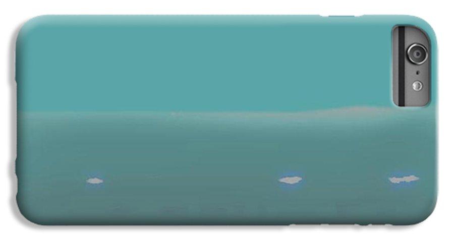 Night.no Moon.sky.sea.waves.coast. Sea Surf .foam Waves. IPhone 6 Plus Case featuring the digital art Sea.night.no Moon. by Dr Loifer Vladimir