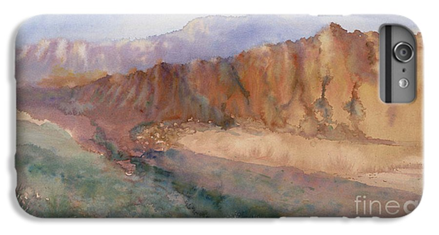 Sedopn IPhone 6 Plus Case featuring the painting Sedona by Ann Cockerill