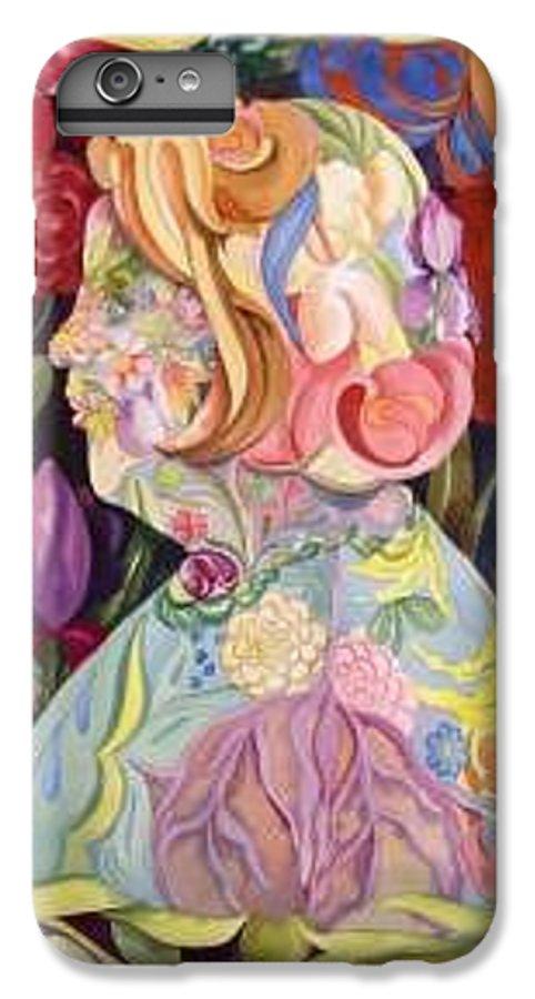 Portrait IPhone 6 Plus Case featuring the painting Self Portrait by Marlene Gremillion