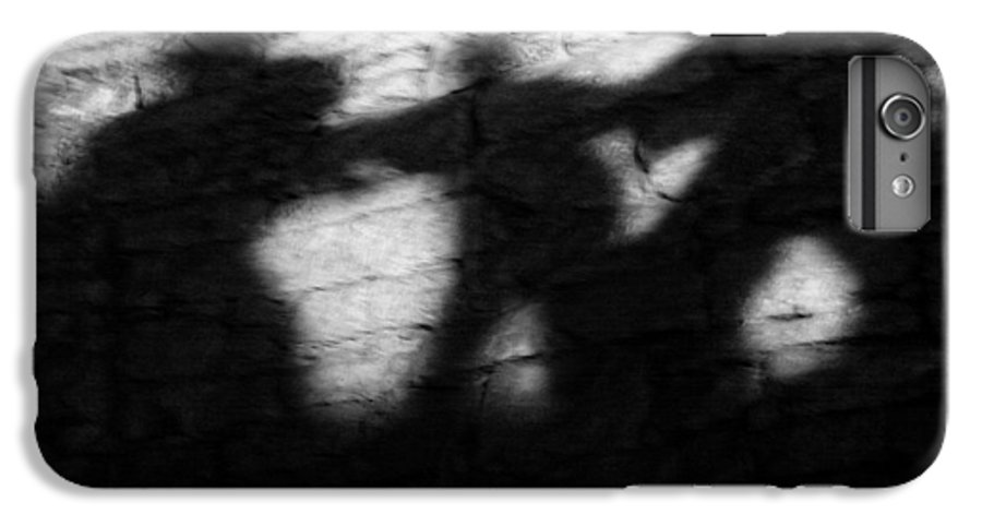 Wall IPhone 6 Plus Case featuring the photograph Shadows On The Wall Of Edinburgh Castle by Christine Till