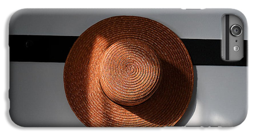 Shaker IPhone 6 Plus Case featuring the photograph Shaker Hat by Lone Dakota Photography