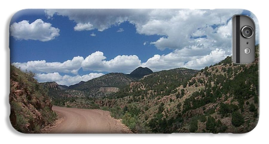 Shelf Road IPhone 6 Plus Case featuring the photograph Shelf Road by Anita Burgermeister