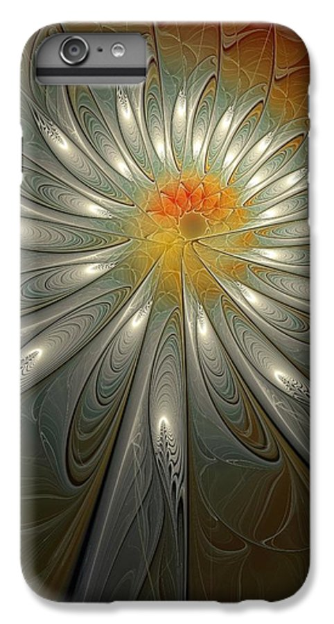 Digital Art IPhone 6 Plus Case featuring the digital art Shimmer by Amanda Moore