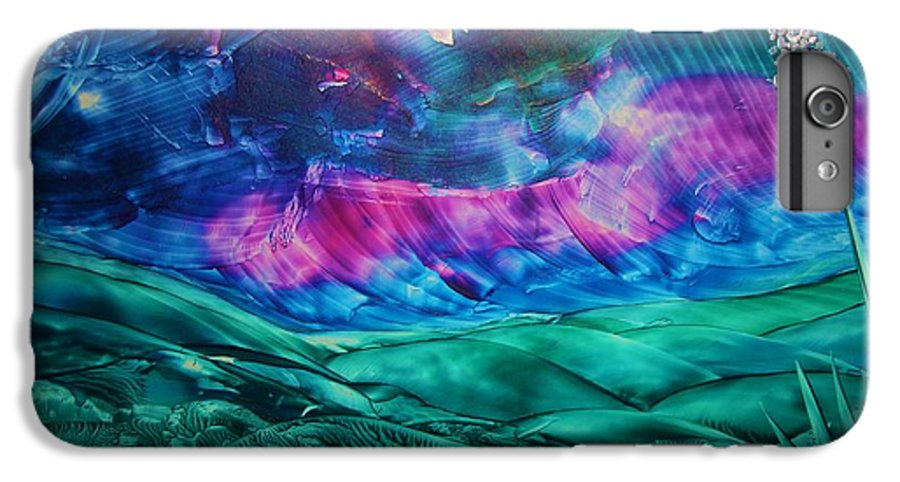 Desert IPhone 6 Plus Case featuring the print Sierra Vista by Melinda Etzold
